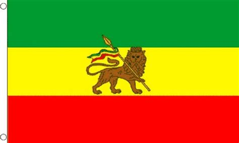 flags of the world lion ethiopia with lion rasta flag 5x3 ethiopian african africa