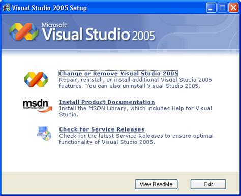 reset visual studio 2005 settings wisc wisconsin integrated software catalog