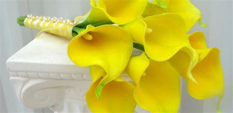 Wedding Bouquet Real Flowers by Yellow Wedding Flower Bouquet Inspiration Real Wedding