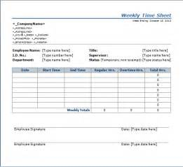 weekly time sheets template weekly time sheet template free layout format
