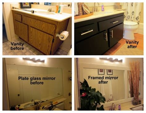 redoing bathroom cabinets 70 s bath gets budget redo