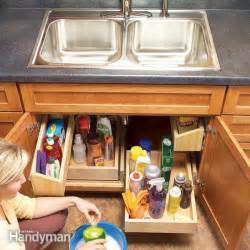 Kitchen Sink Storage Ideas by 37 Diy Hacks And Ideas To Improve Your Kitchen