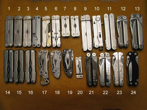 leatherman models comparison my collection so far the shutter shop multitool org