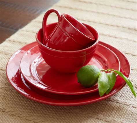 pottery barn china red home decor 10 ways to decorate with red chatelaine com