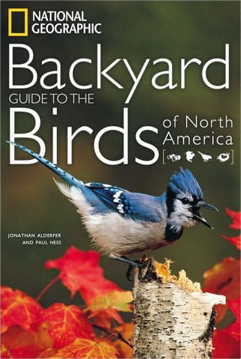 book backyard guide to the birds of north america