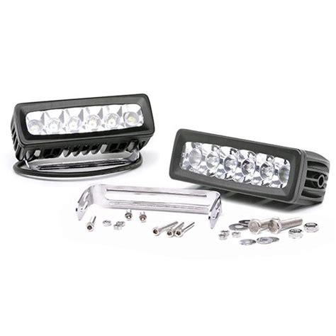 6 Inch Led Light Bar Country 6 Inch Led Light Bars Lucky S Autosports