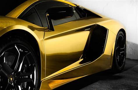 Lamborghini Or La Premi 232 Re Lamborghini Aventador En Covering Or Total