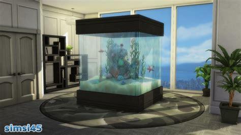 aquabox aquarium conversion  simsi  mod  sims