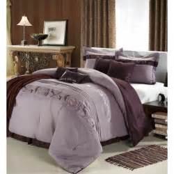 King Comforter Set Clearance Clearance 8pc Luxury Bedding Set Trinity Lavender