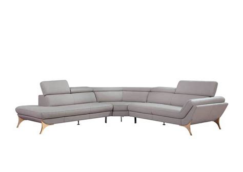 Modern Loveseat Sofa Modern Grey Sectional Sofa Vg41 Leather Sectionals Grey Leather Modern Sofa Iasc 2015