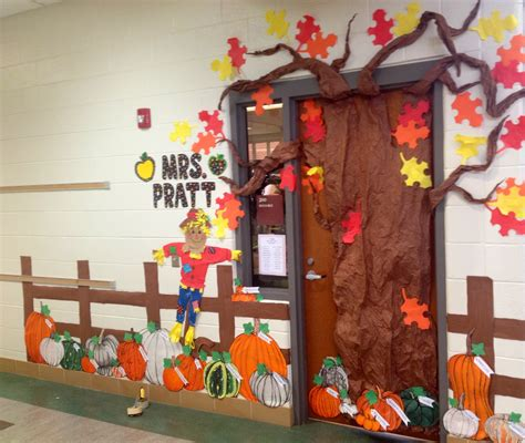 fall classroom decorating ideas fall pumpkin patch classroom door decoration features