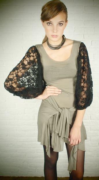 Set Sleeve Lace Dress Vest a look at aula aila ryza ss 2011