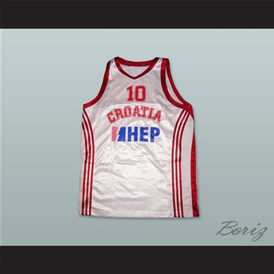 Jersey Go Croatia Home croatia 10 national team basketball jersey