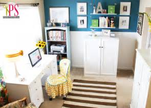 sew for home sewing room home office reveal positively splendid