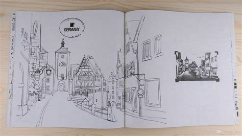 Greece Travel Coloring Book colouring books travel to mind korean fashion
