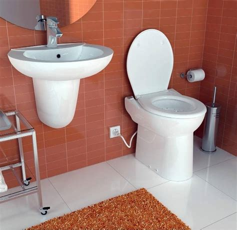 saniflo bathrooms saniflo sanicompact cisternless ceramic wc with macerator pump