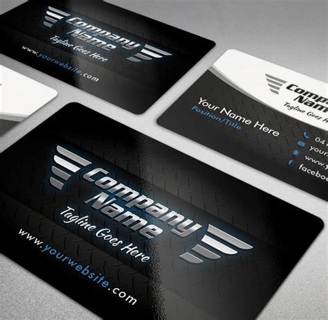 free repair business card template 20 cool automotive business cards psds