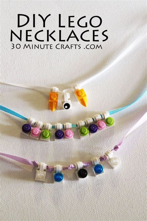 how to make lego jewelry 1000 ideas about lego necklace on lego