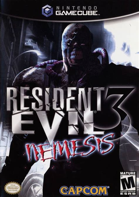 resident evil 3 resident evil 3 nemesis box for gamecube gamefaqs