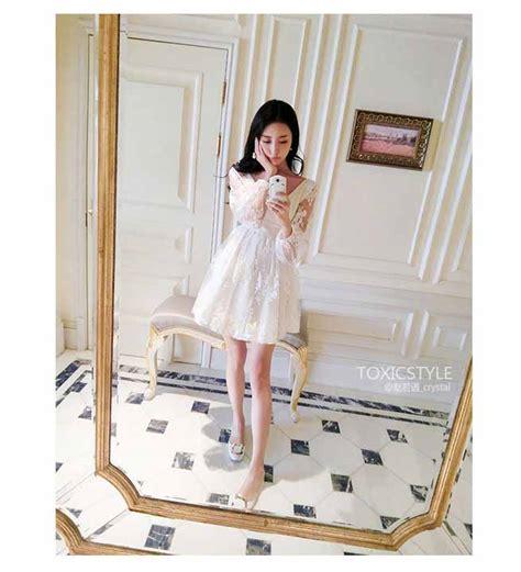 Dress Wanita Korea Original Import 12 dress organza korea import cantik toko baju wanita murah goldendragonshop
