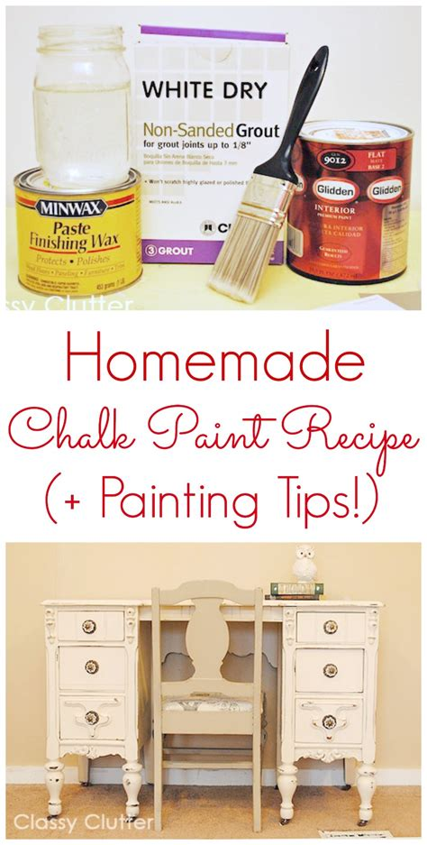 diy chalk paint recipe grout the best painting tips and tricks clutter