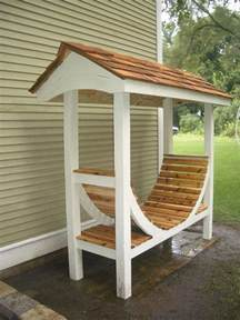 Outdoor Wood Storage Project