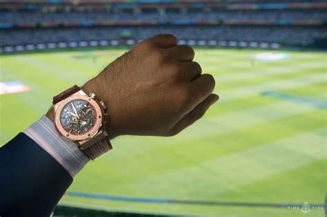 cup price hublot at the icc cricket world cup event