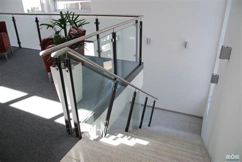Treppengeländer Edelstahl Glas by Absturzsicherungen