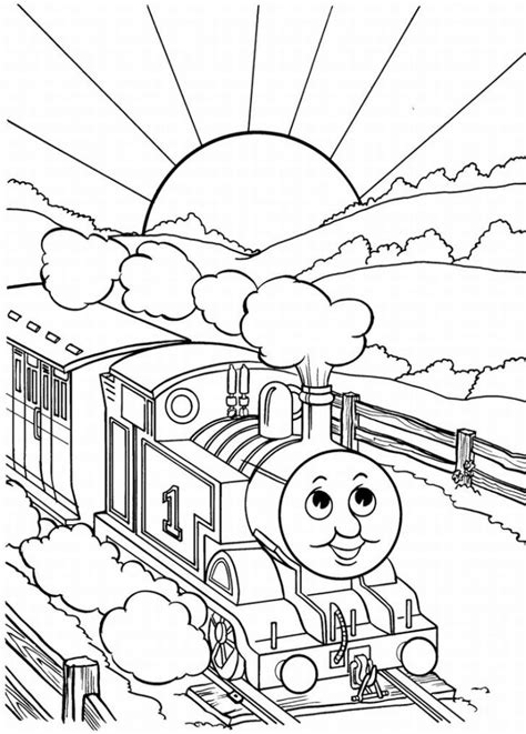 thomas tank engine coloring page az coloring pages