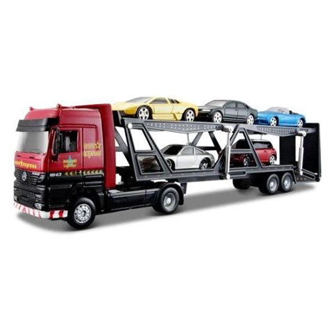 Supermurah Maisto Highway Hauler Container Trailer Type 1 maisto truck line car carrier trailer
