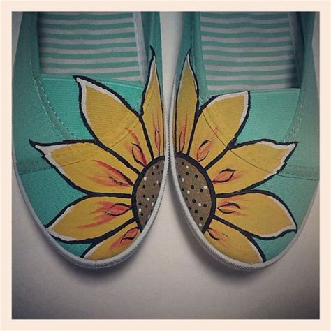 25 painted canvas shoes ideas on
