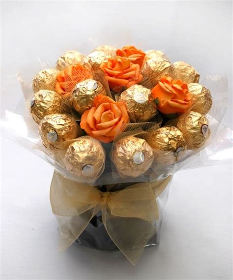 Sweet In Pot Bouquet 132 best images about ferrero rocher bouquets on