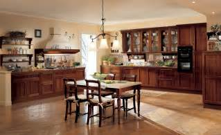 Kitchen Table With Cabinets Classic Kitchen Cabinet With Wooden Table And Chairs 108 Baytownkitchen