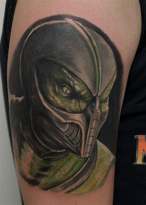 reptile tattoos mortal kombat tattoos that you may want to consider