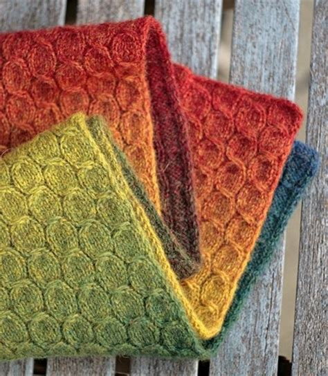 knitting pattern for rainbow scarf rainbow scarf knit fast die warm pinterest cable