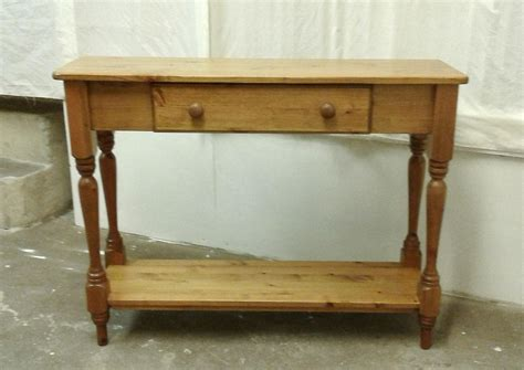 Hallway Table With Drawers Pine Table With Drawer
