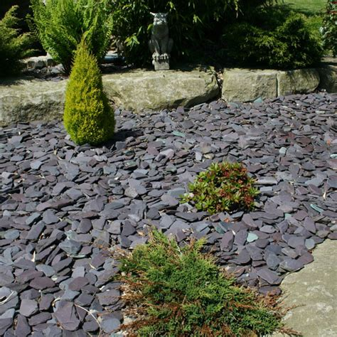 tumbled blue paddlestones 50 100mm landscaping
