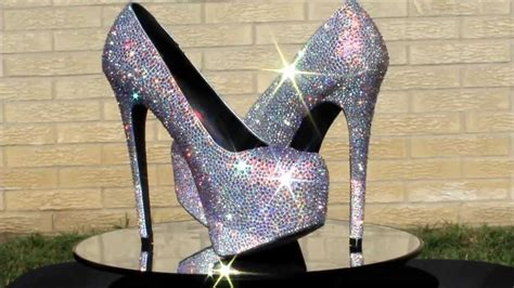 Bedazzled Boots And Sparkly Surgical Shoes Strass Shoes Sparkle Wedding Shoes Milwaukee Wi Bling