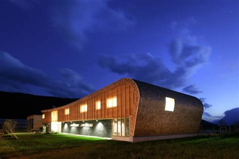 design innovation for the built environment curvaceous austrian avalanche center protects the