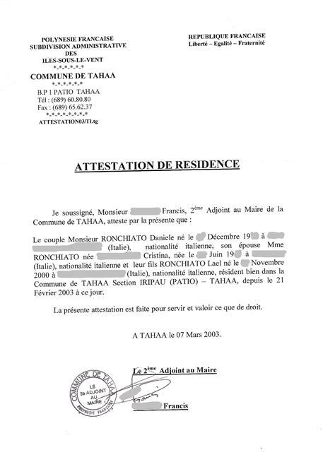 certificato di soggiorno polinesia francese e bora bora le leggi e la burocrazia
