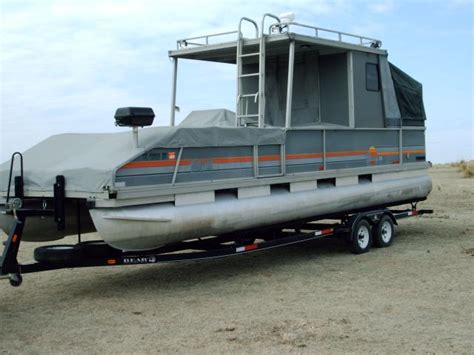 30 ft pontoon boat trailer for sale 1987 sun tracker party hut 28ft pontoon boat w trailer