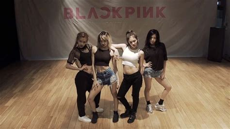 blackpink dance blackpink 블랙핑크 휘파람 whistle dance practice video 통통영상