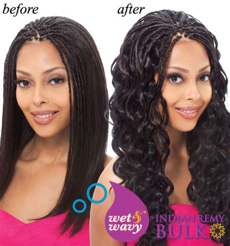synthetic braids to wet wavy youtube crochet braids with wet and wavy human hair triple weft