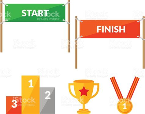 start to finish start line clipart clipground