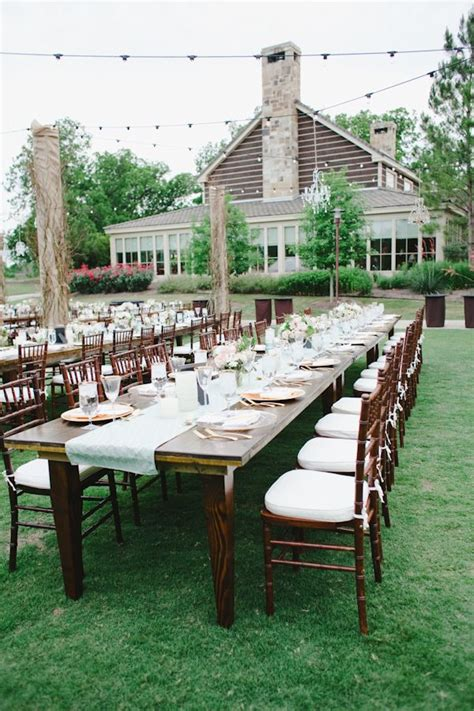 hyatt lost pines wedding 21 best images about outdoor receptions on pinterest