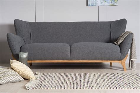 wesley contemporary  seater sofa  natural furniture