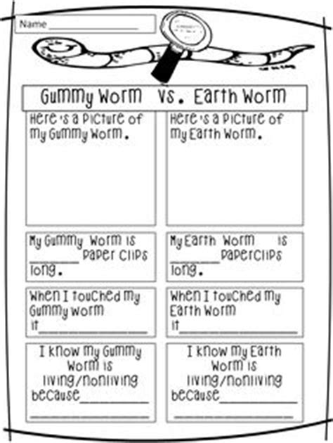 earthworm dissection lesson plan living and non living on living and nonliving