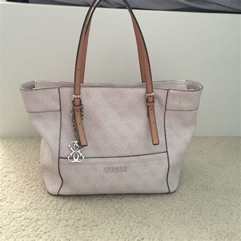 Other Designers Guess Who And The Bag by 71 Guess Handbags Guess Delaney Small Tote From Liz
