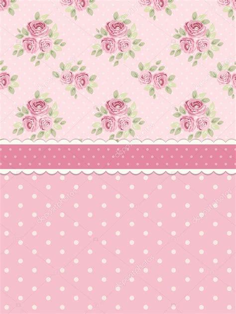 Kaligrafi Shabby Chic Pink shabby chic background with roses stock vector 169 ishkrabal 116278250