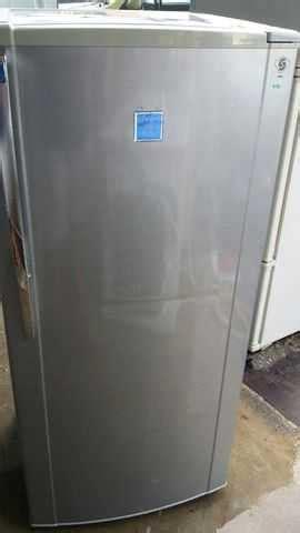 Freezer Second Sharp silver sharp 1 door fridge peti sejuk refrigerator freezer refurbish for sale from kuala lumpur